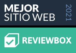 Insignia Mejor Web 2021